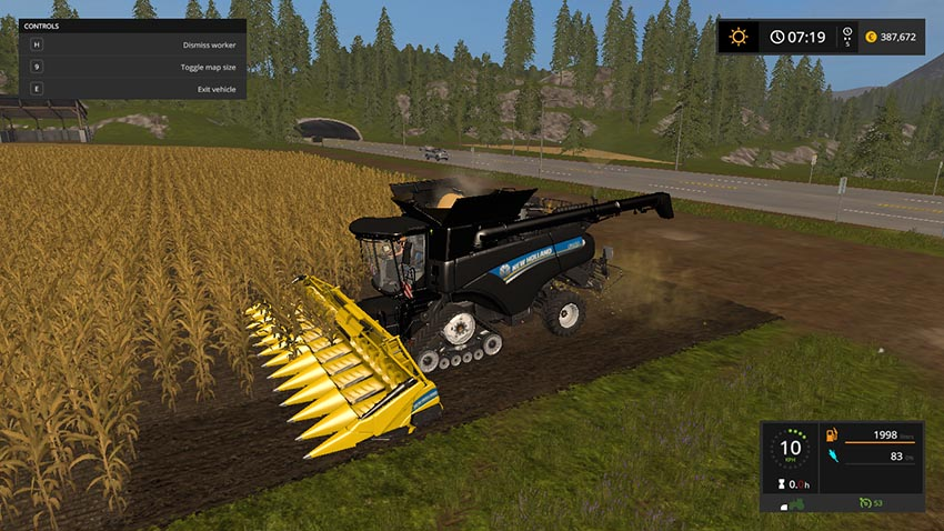 New Holland CR10.90 Multicolor v 1.0.0.1