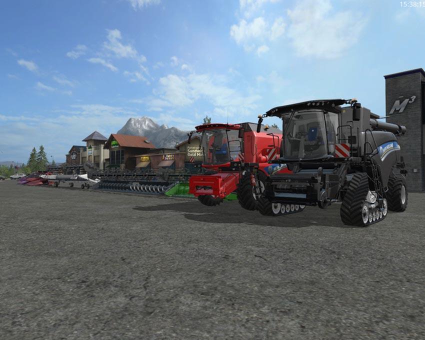 New Holland Harvester Dyeable V Beta 0.9
