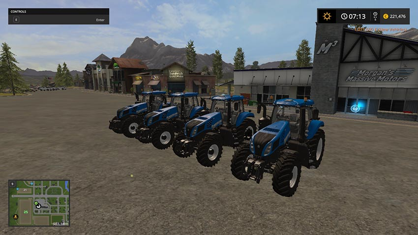 New Holland T8 V 1.0