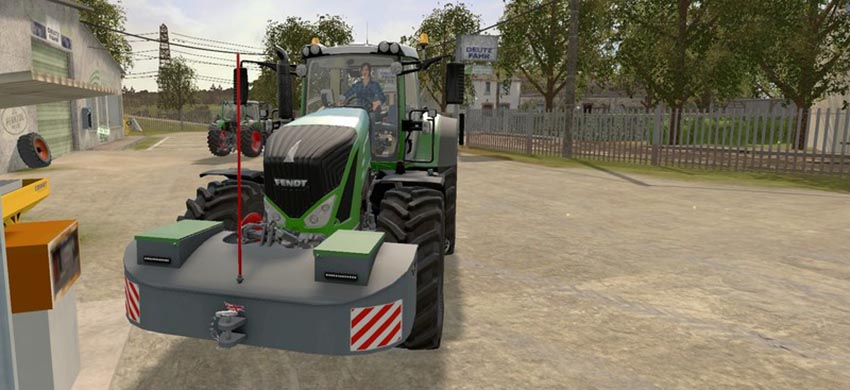 Pack 2 Front weight AGRI-WELD with Fuel V 1.0.1