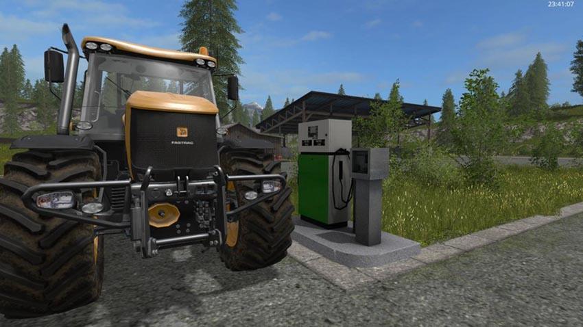 Placeable fuelstation V 1.0