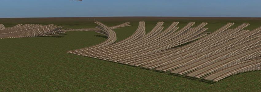 Railroad Tracks Set V 1.0