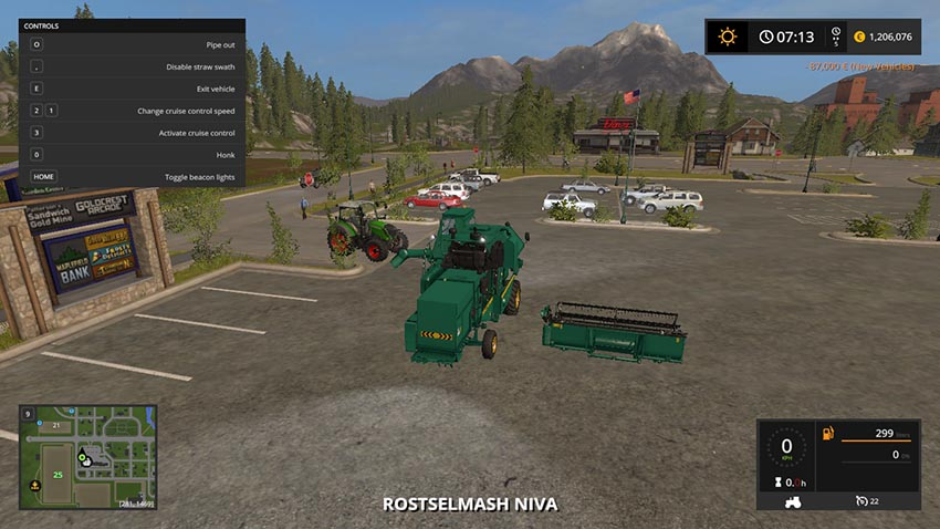 Rostselmash NIVA SK-5ME1 v 1.0