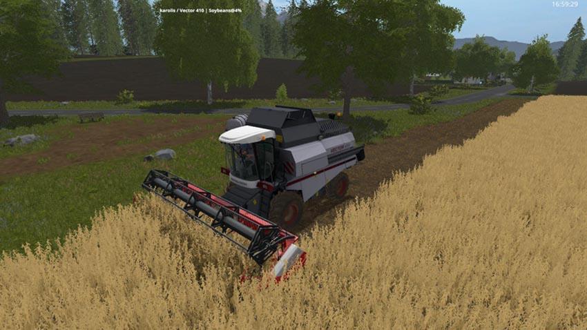 Rostselmash Vector 410 V 1.0