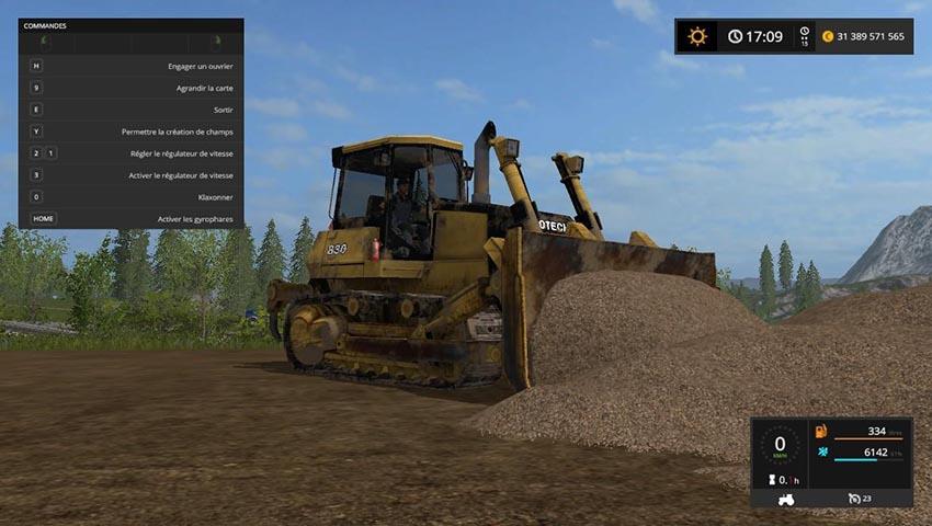 rotech 830 bulldozer v 0 9