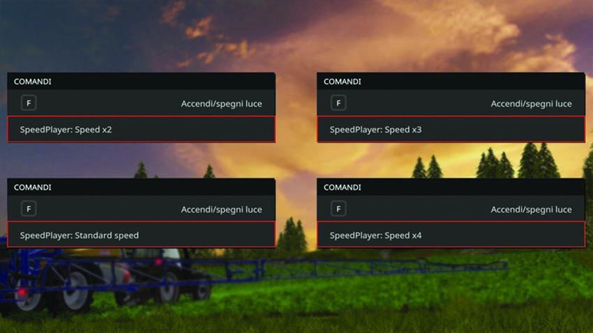 Player Speed V 2.0