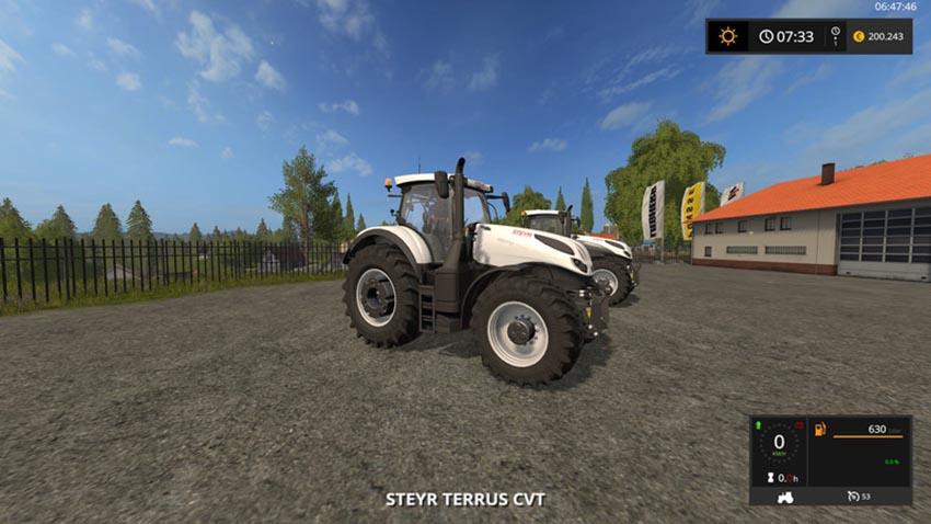 Steyr CVT Terrus B and W V 1.0.0.1