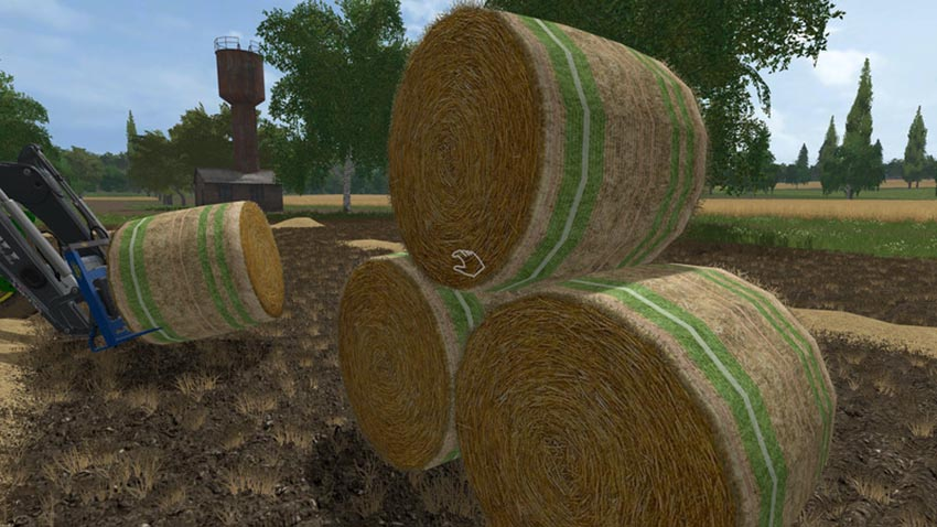 Straw bale Texture V 1.0