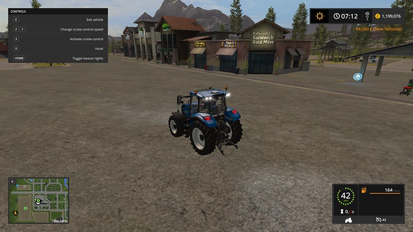 T5 standard tractor with Chiptuning V 1.1