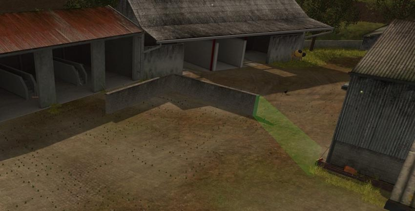 Wall 10 M wiht Collision v 1.0 placeable