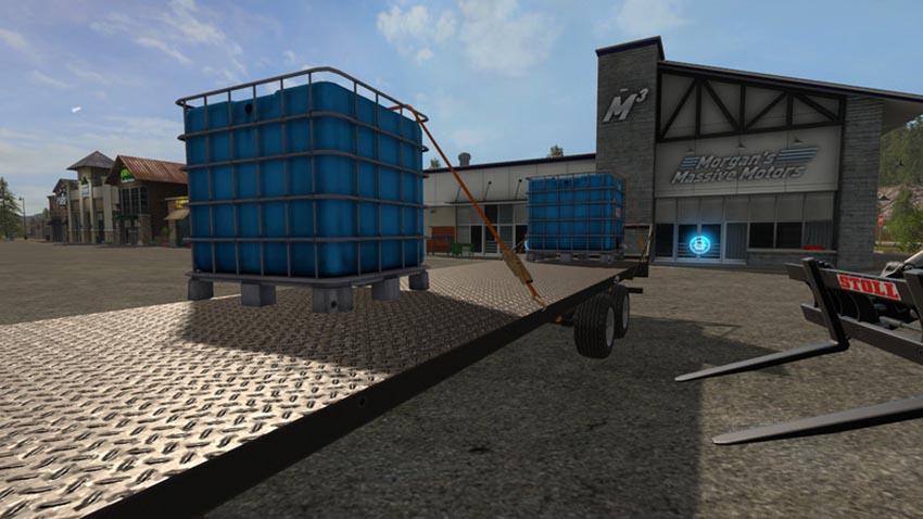 Water tank pallet 2000l V 1.0
