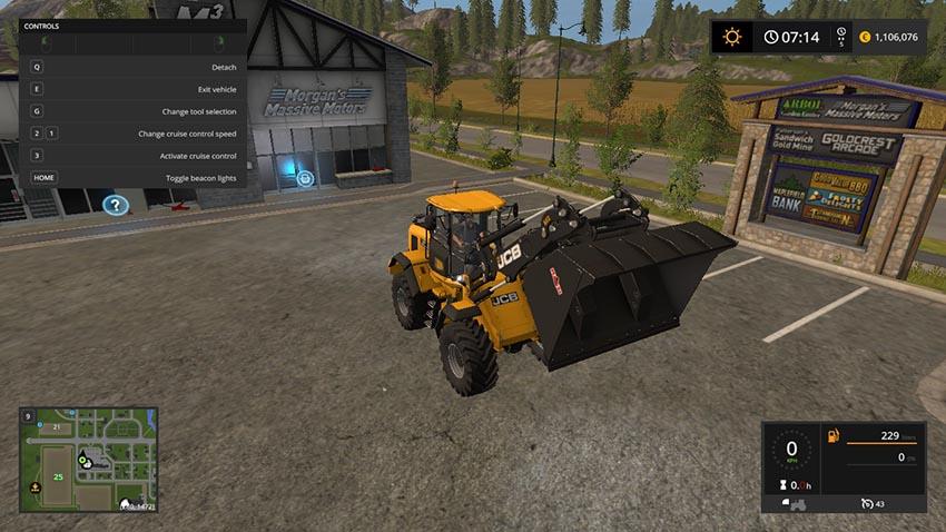 Wheel loaders Universalschaufel 10k V 1.0