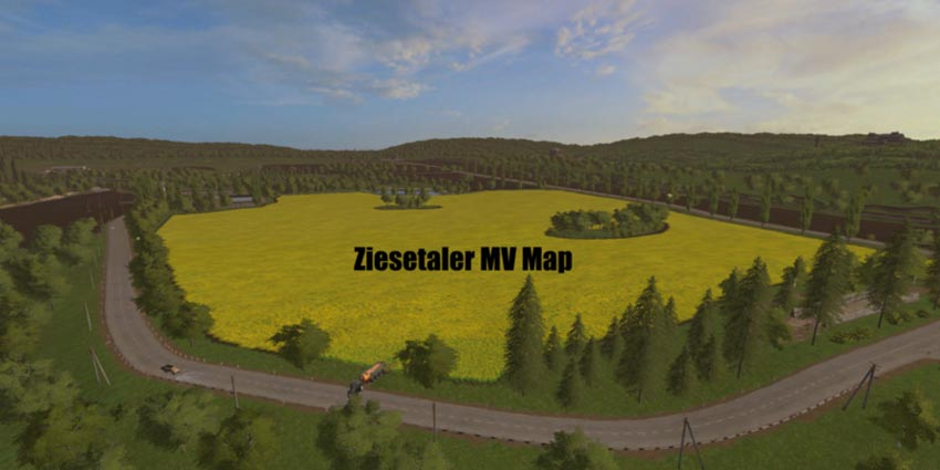 Ziesetaler MV Map V 1.0