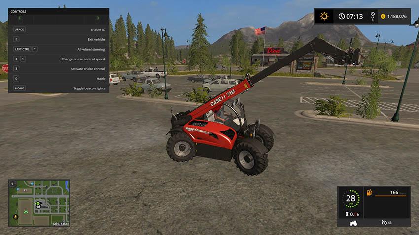 Case 735 farmlift V 1.0