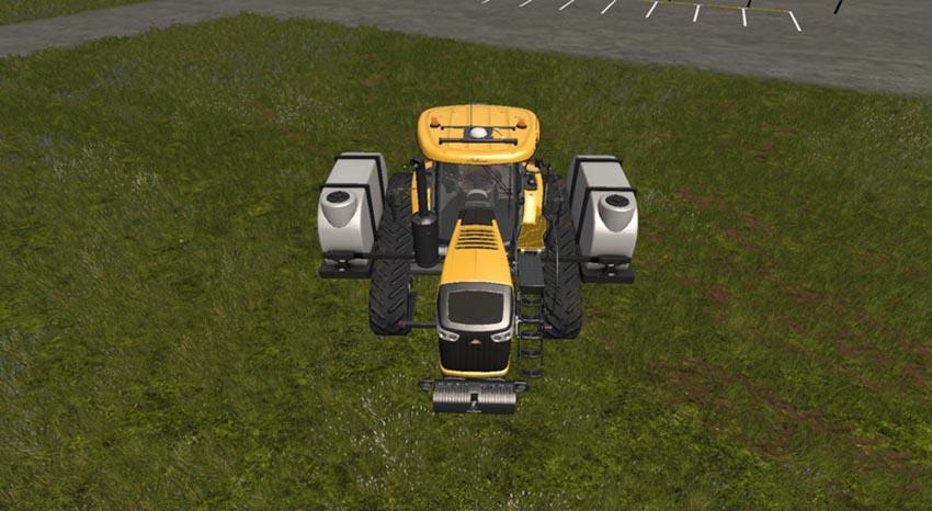 Challenger MT700E with demco tanks V 1.0