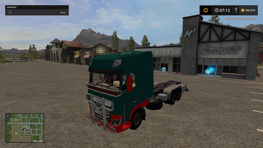 Daf xf It Runner 3 achs V 1.0