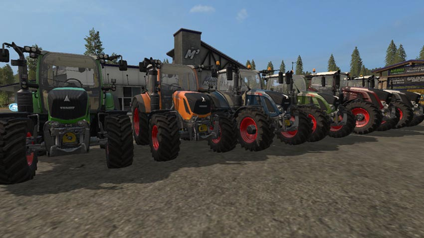 Fendt Package with choise of colour V 1.0