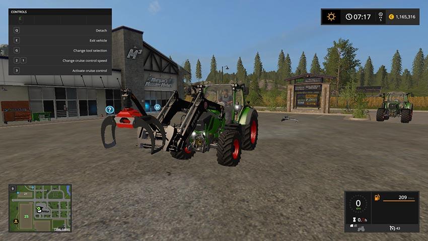 Front loader gripper V 1.1