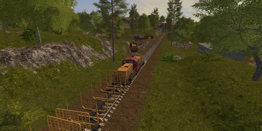 Hills Map Train Edition v 1.1