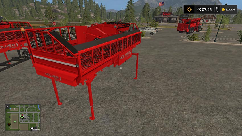 Holmer Auger Wagon for sugar beets potato chaff woodchips v 1.1