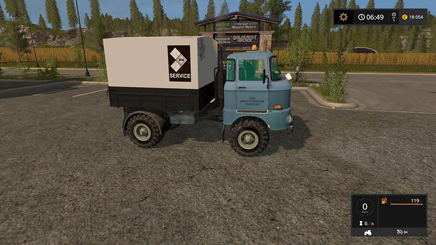 IFA W50 Service v 2.0