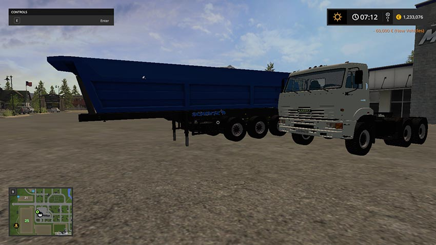 Kamaz 65116 6x6 And Schmitz SL 8 v 1.0