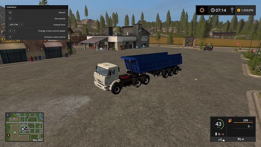 Kamaz 65116 6x6 And Schmitz SL 8 v 1.0