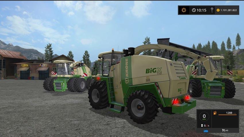 Krone BigX 700 - 1100 V 1.1.0.1