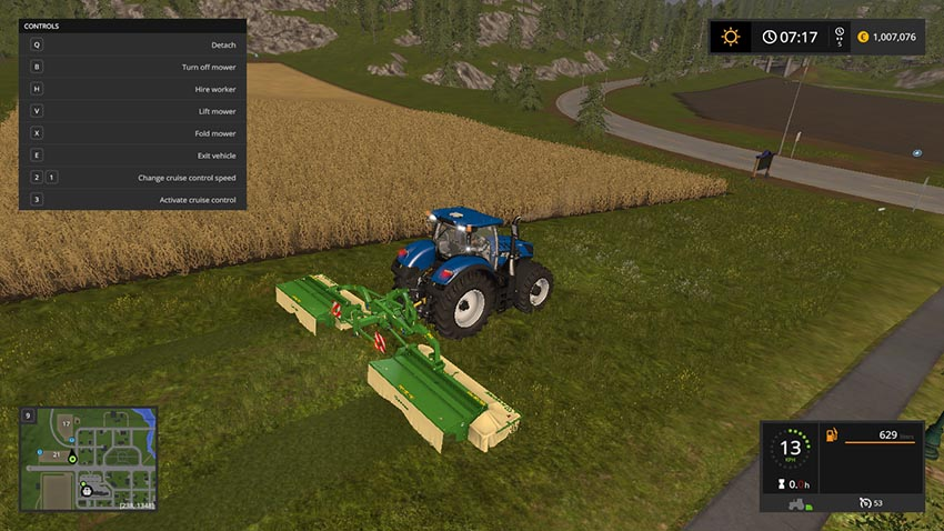 Krone EasyCut 9140 Shift V 1.0 Beta