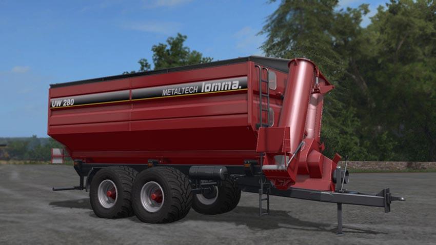 Lomma UW280 Grain Trailer V 1.0