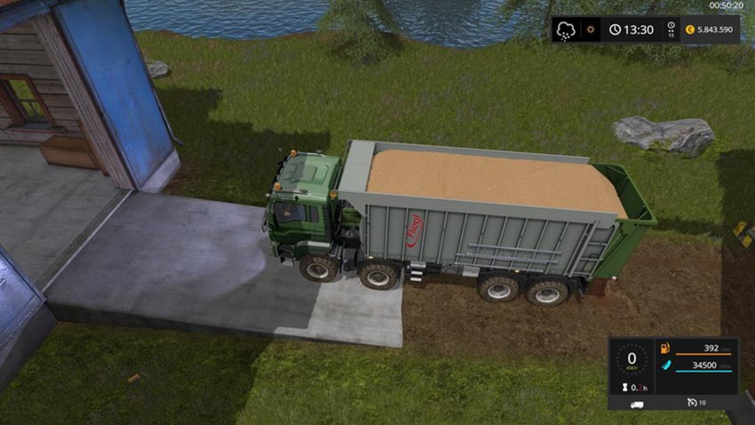 MAN TGS with Fliegl extension V 1.7.4
