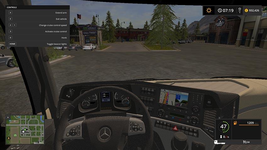 Mercedes Actros MP4 IT Runner 8x8 V 1.0