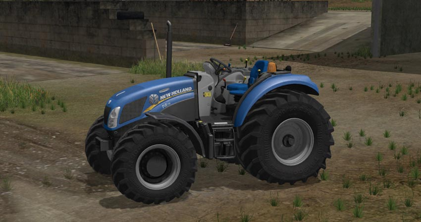 New Holland T4 75 Garden Edition V 1.17