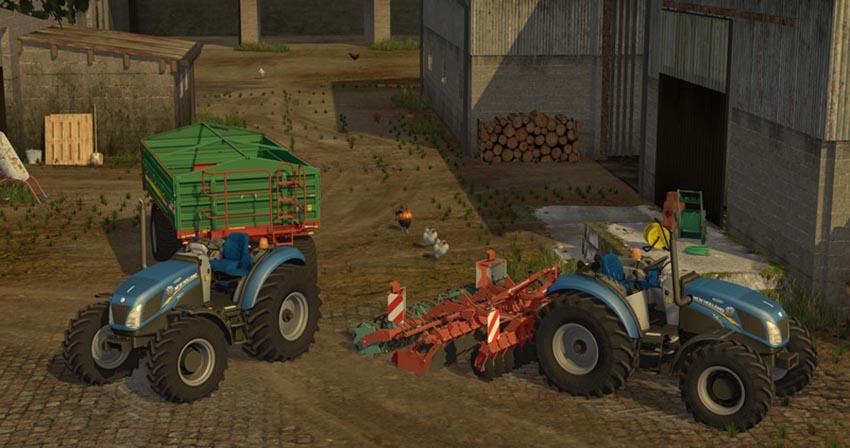 New Holland T4 75 Garden Edition V 1.17