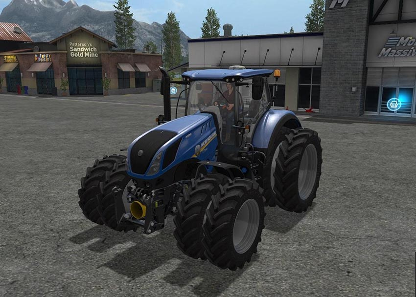 New Holland T7 Dual Wheels v 1.0