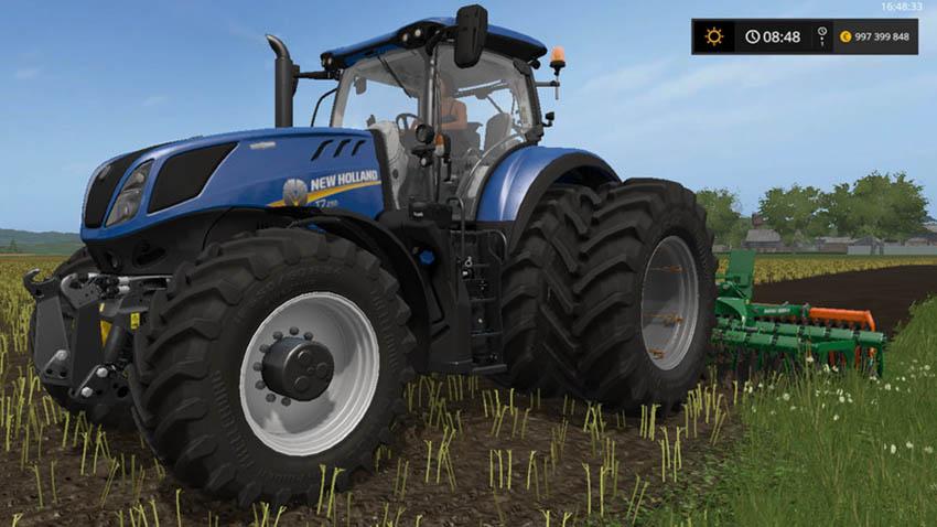 New holland t7 roue jumelee V 1.0