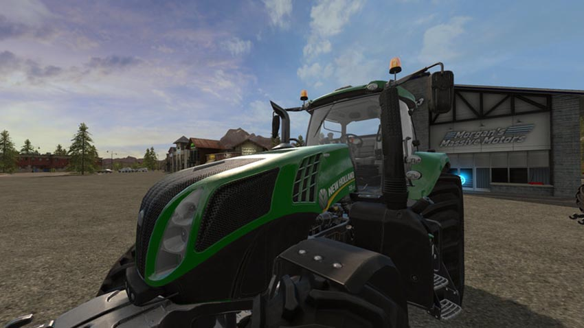 New Holland T8 Green Edition v 1.1