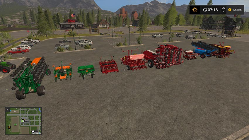 Seeders for dressed seeds V 1.0