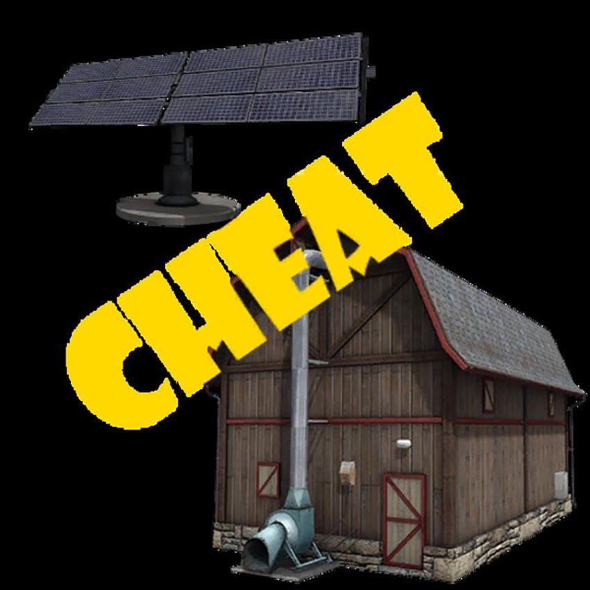Solar Storage Cheat V 1.0