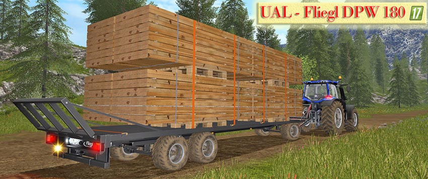 UAL Fliegl DPW 180 boards Palette V 1.0