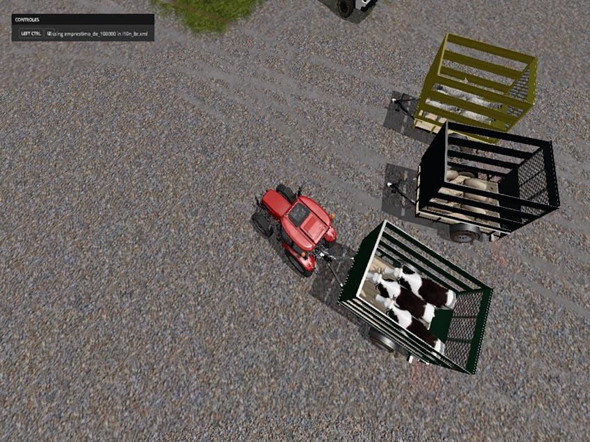 Mini Lives Stock trailer