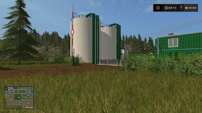 BIO Diesel refinery can be placed v 1.0