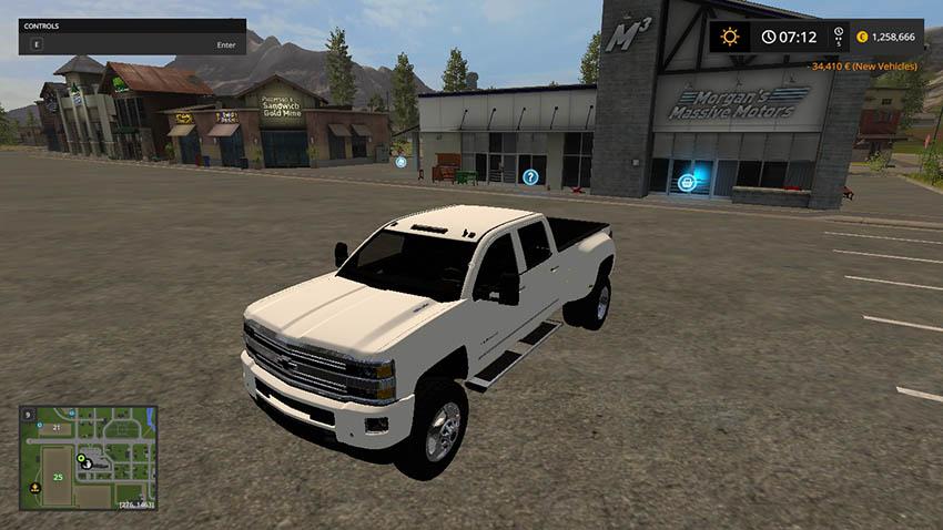 Chevy Silverado 3500HD