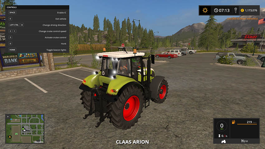 Claas Arion 600 610 620 630 V 1.0