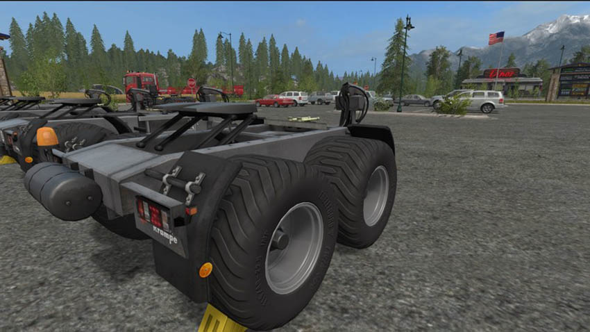 Dolly Krampe 10L 20L with an adjustable seat plate v 1.1.1.0