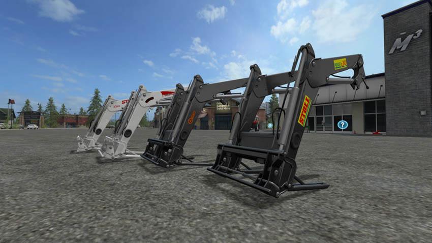 Front loader for medium tractors v 1.0