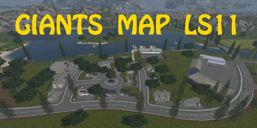 Giants Map LS11 V 1.0