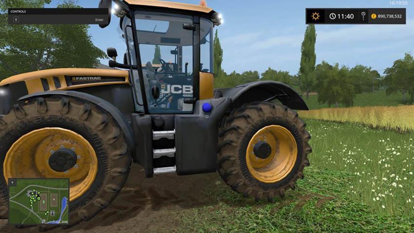 JCB FASTRAC 4000 PACK V 1.1