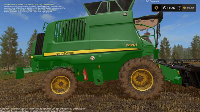 John Deere T670i BETA V 1.0 BETA