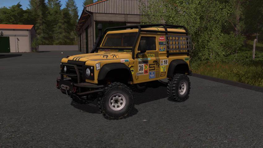Land Rover Defender Dakar v 1.0